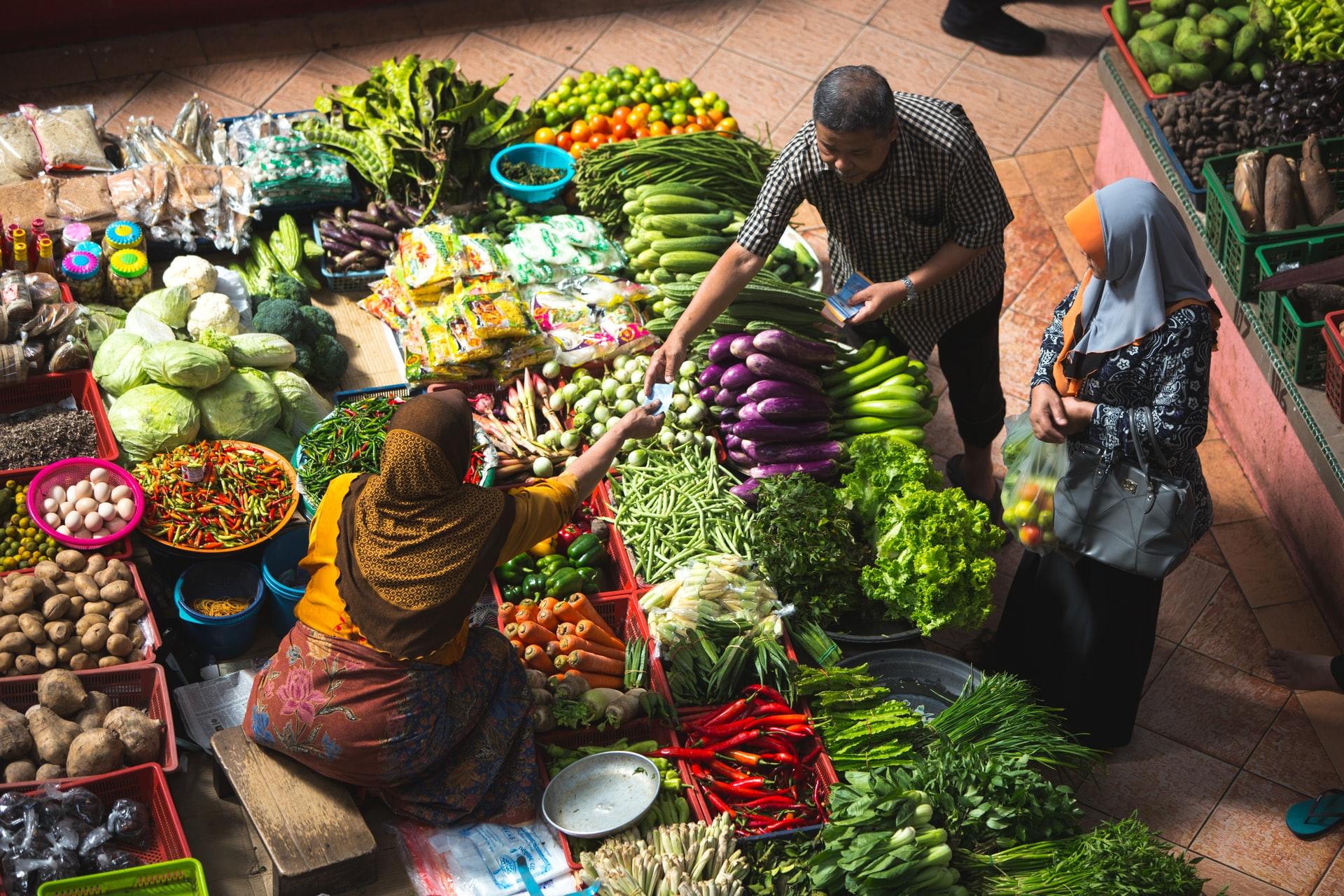 informal food market